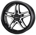 литые диски Alutec Poison Diamond Black Front Polished 7,0*16 4/100 ET 42 d60,1