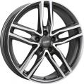 литые диски Alutec Ikenu Diamond Black Front Polished 7,5*17 5/112 ET 40 d66,5