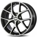 литые диски BBS SR041 Vulcano Grey Diamond Cut