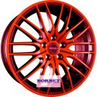 литой диск Borbet CW4-5 Red Front Polished