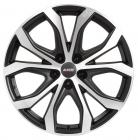литой диск Alutec W10X Racing Black Front Polished
