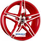 литой диск Borbet XRT Red Polished